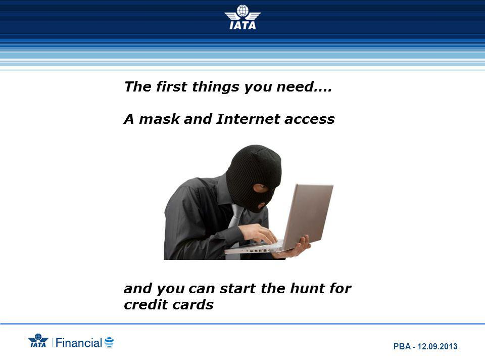 The first things you need…. A mask and Internet access