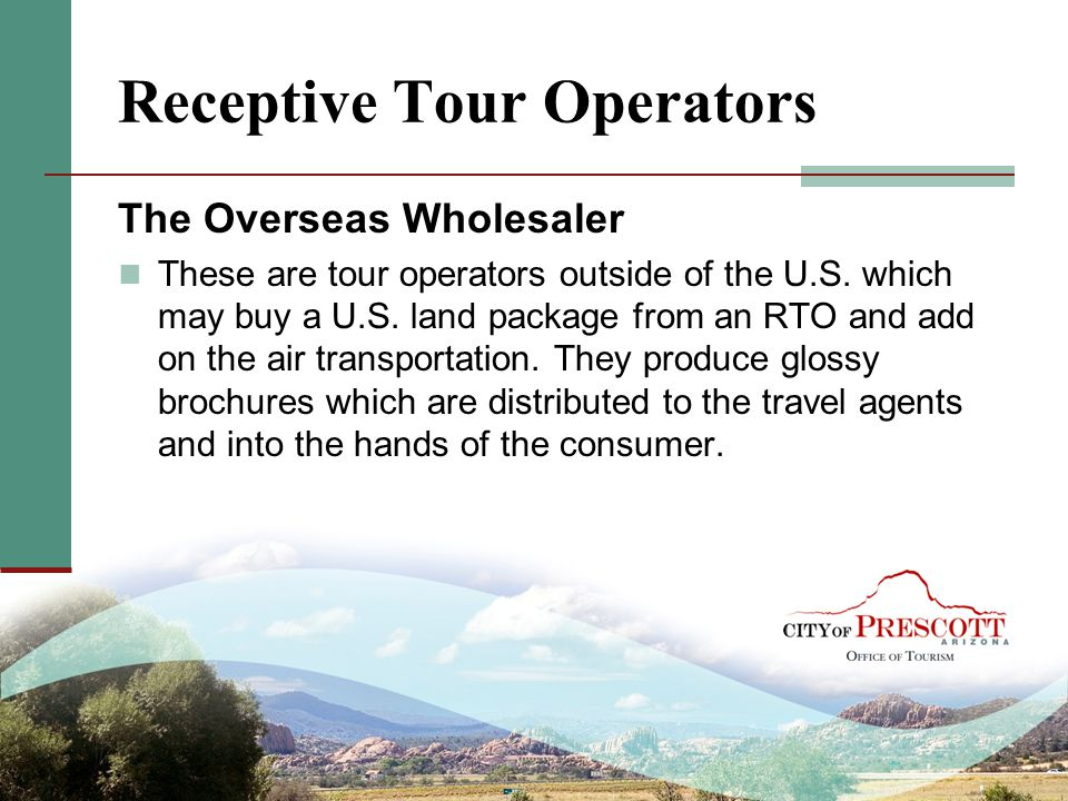 Receptive Tour Operators