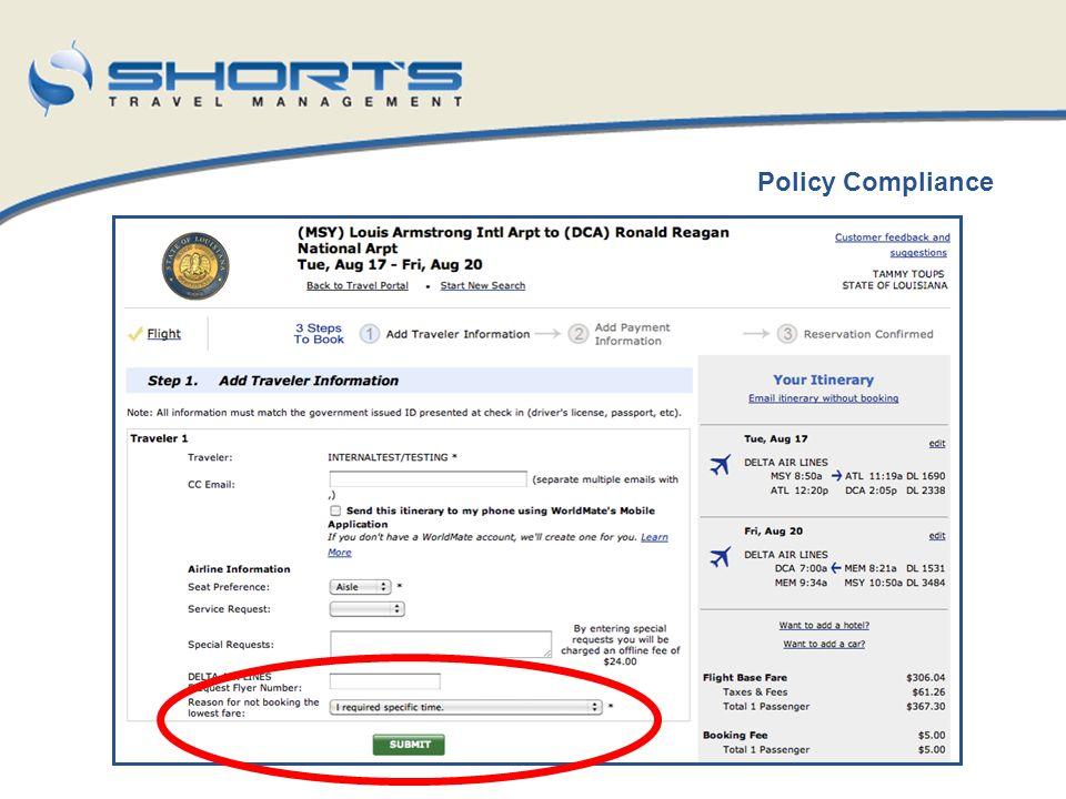Policy Compliance LSU