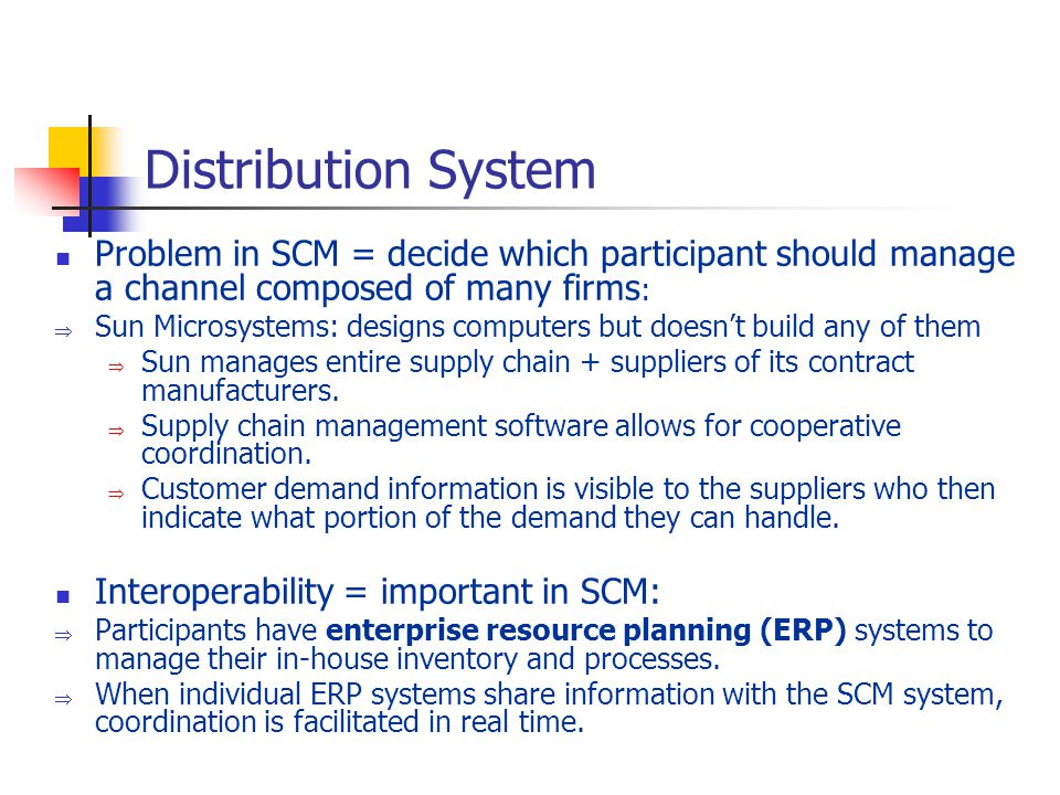 information systems in scm and erp essay 2017-9-15  essay on implementation erp  factors for the first nike-i2 erp-scm implementation  (erp) systems provide integration and.