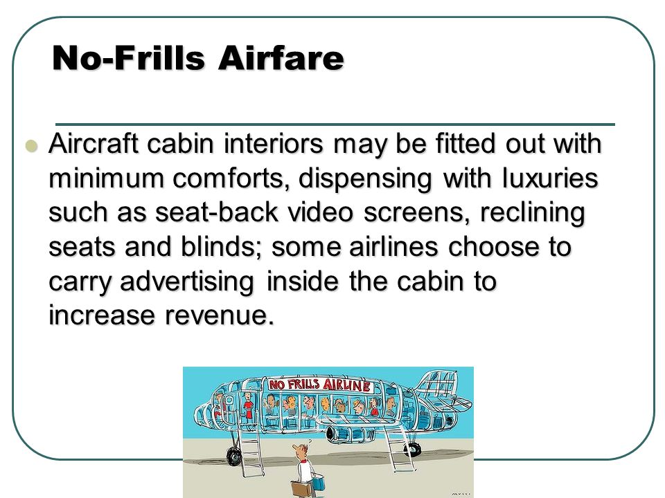 No-Frills Airfare