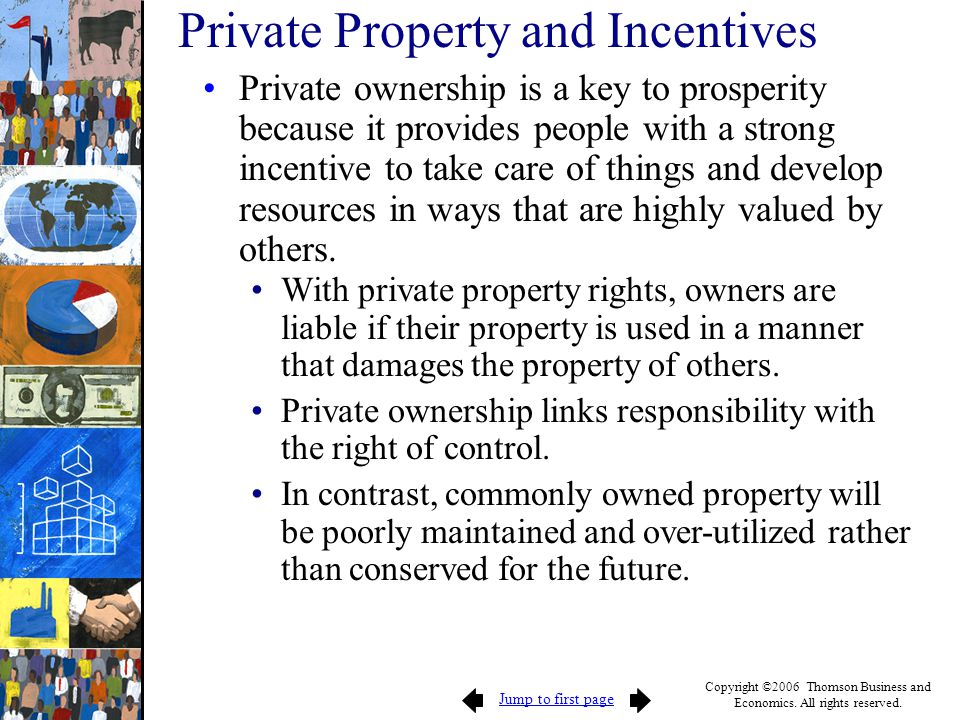 Private Property and Incentives