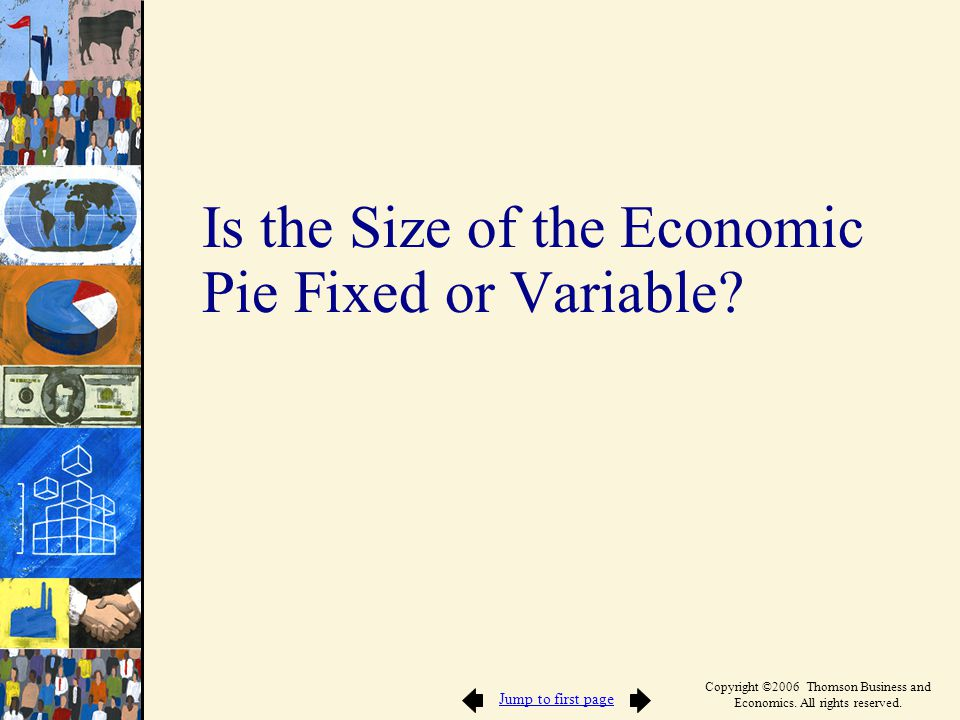 Is the Size of the Economic