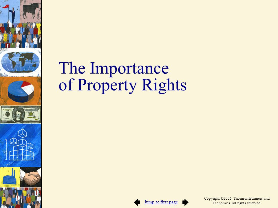 Private Property Rights Involve