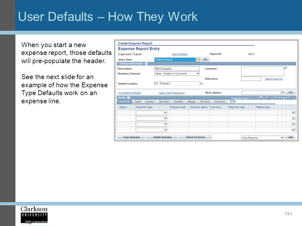 User Defaults – How They Work