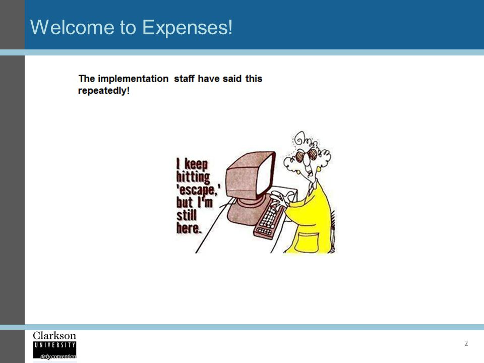 Welcome to Expenses!