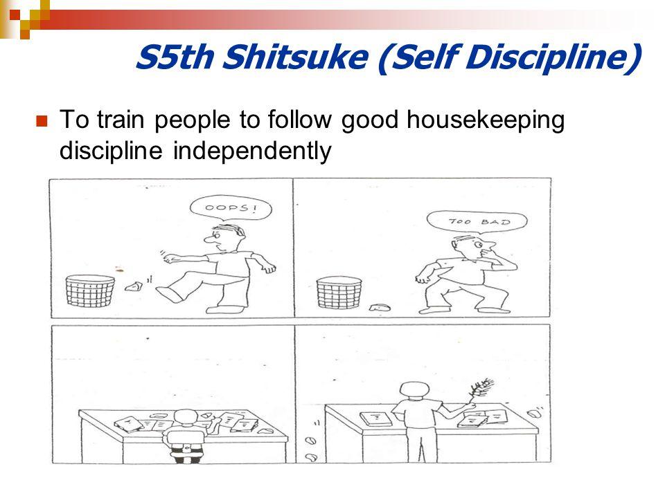 S5th Shitsuke (Self Discipline)