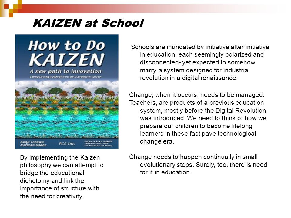 KAIZEN at School