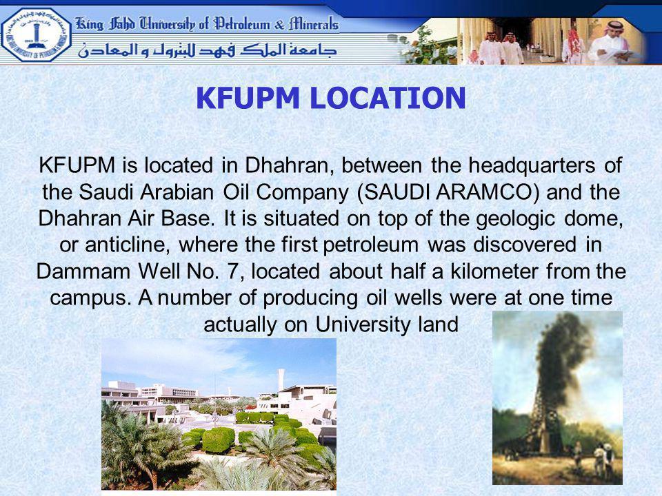 KFUPM LOCATION
