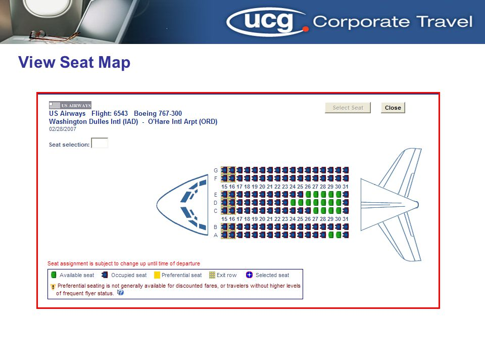 3/31/2017 View Seat Map