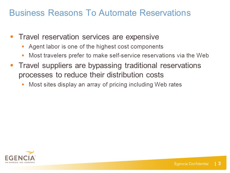 Business Reasons To Automate Reservations