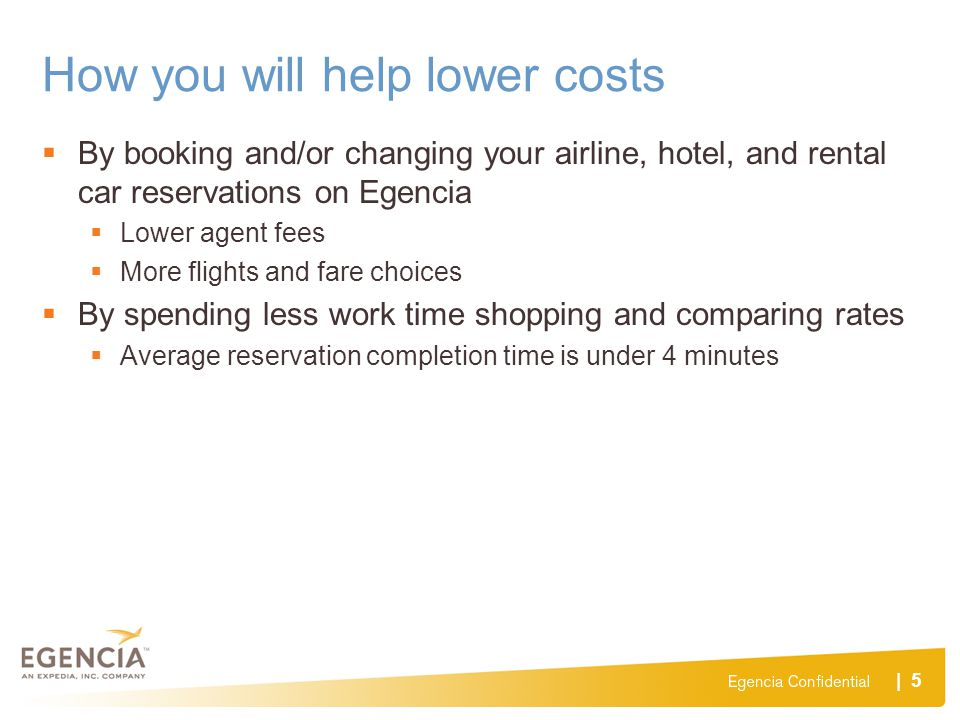 How you will help lower costs