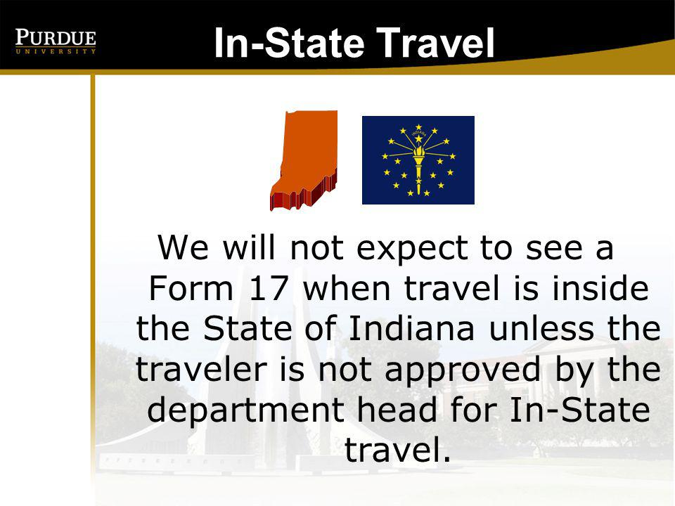 In-State Travel: