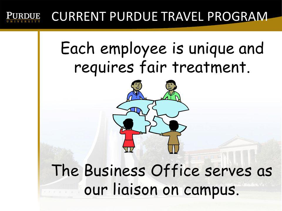 Each employee is unique and requires fair treatment.