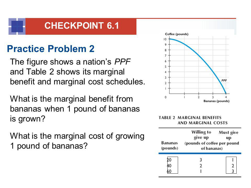 Practice Problem 2 CHECKPOINT 6.1