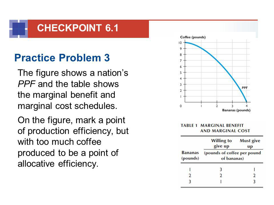 Practice Problem 3 CHECKPOINT 6.1