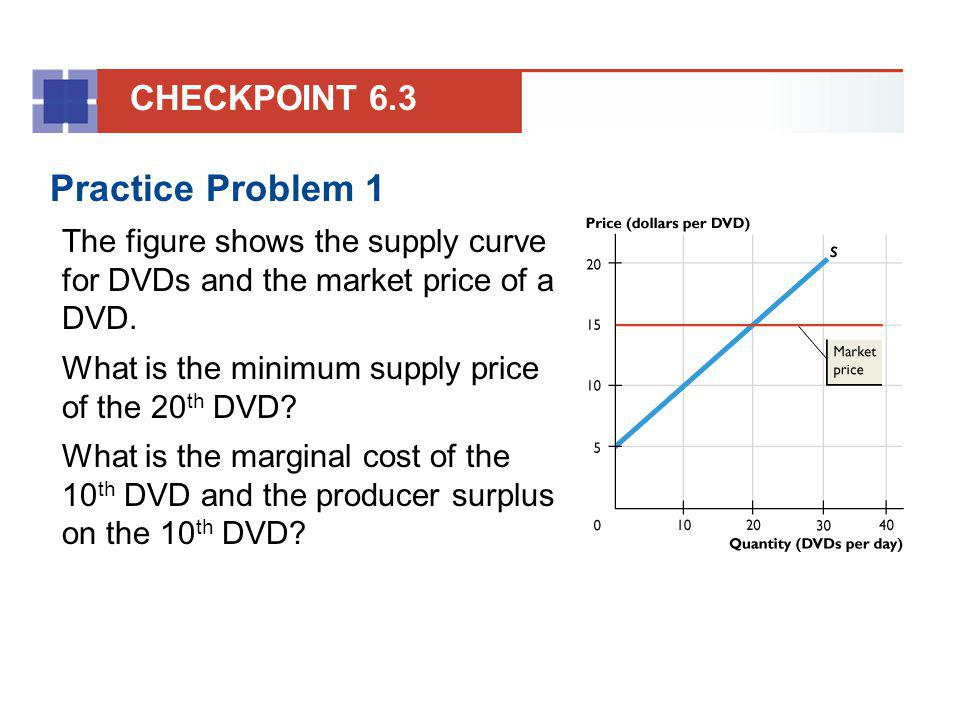 Practice Problem 1 CHECKPOINT 6.3