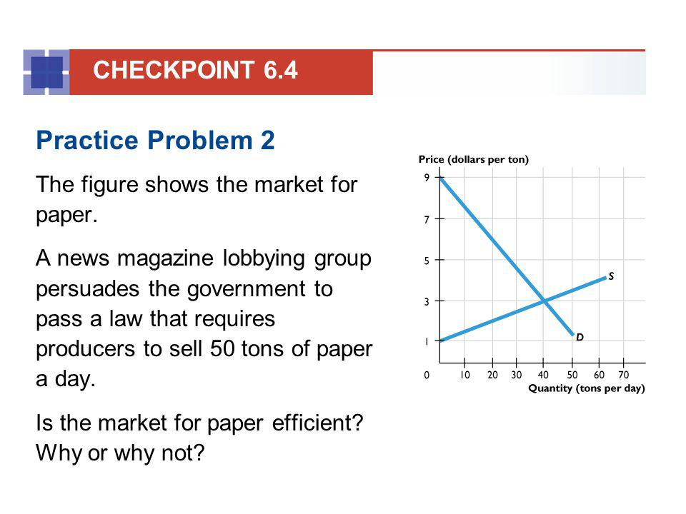 Practice Problem 2 CHECKPOINT 6.4