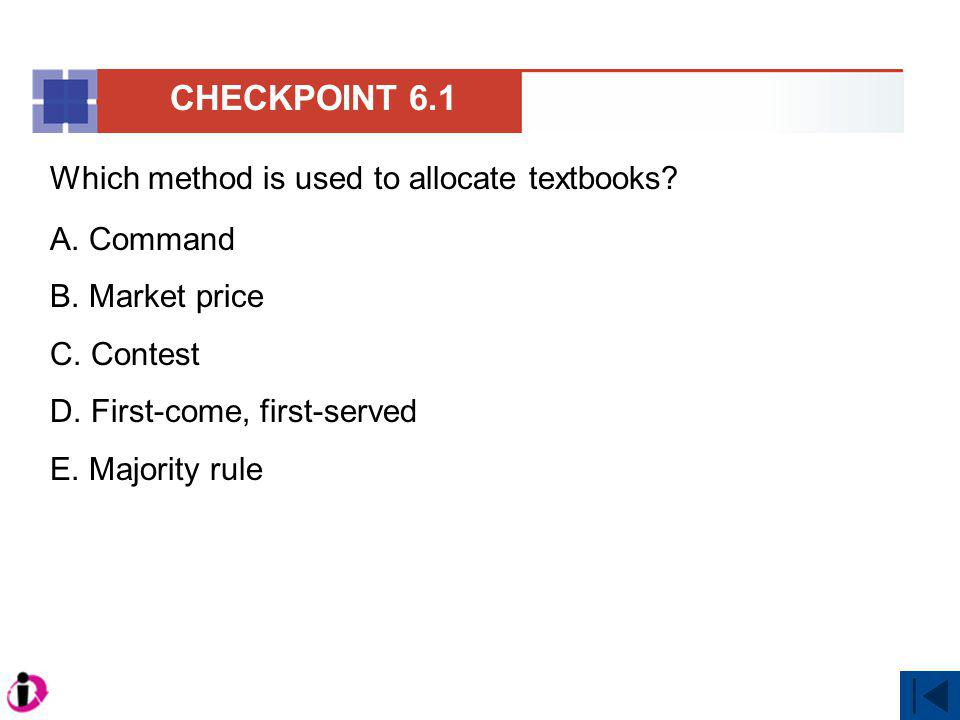 MyEconLab clicker question Correct answer is B