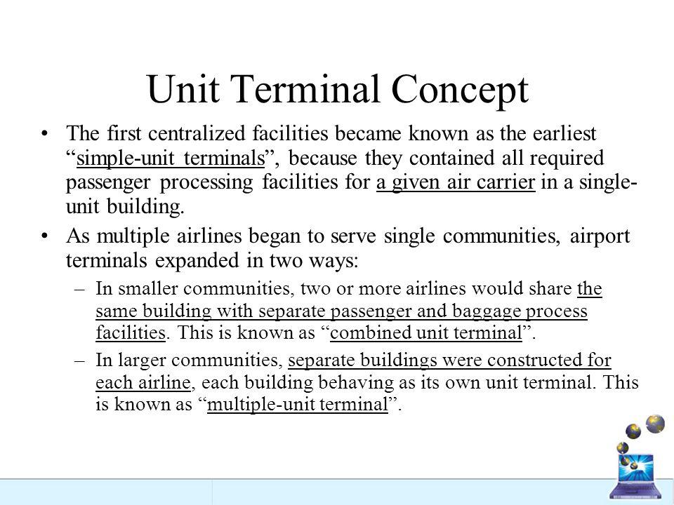 Unit Terminal Concept