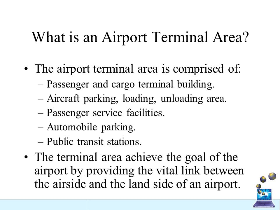 What is an Airport Terminal Area
