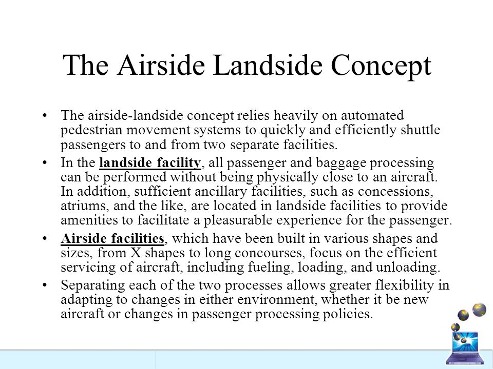 The Airside Landside Concept