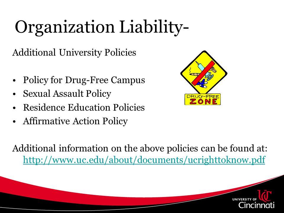 Organization Liability-