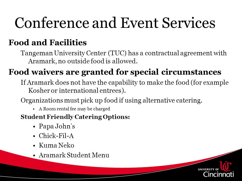 Conference and Event Services