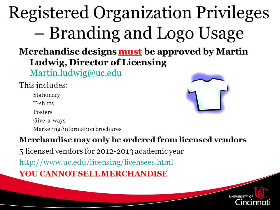 Registered Organization Privileges – Branding and Logo Usage