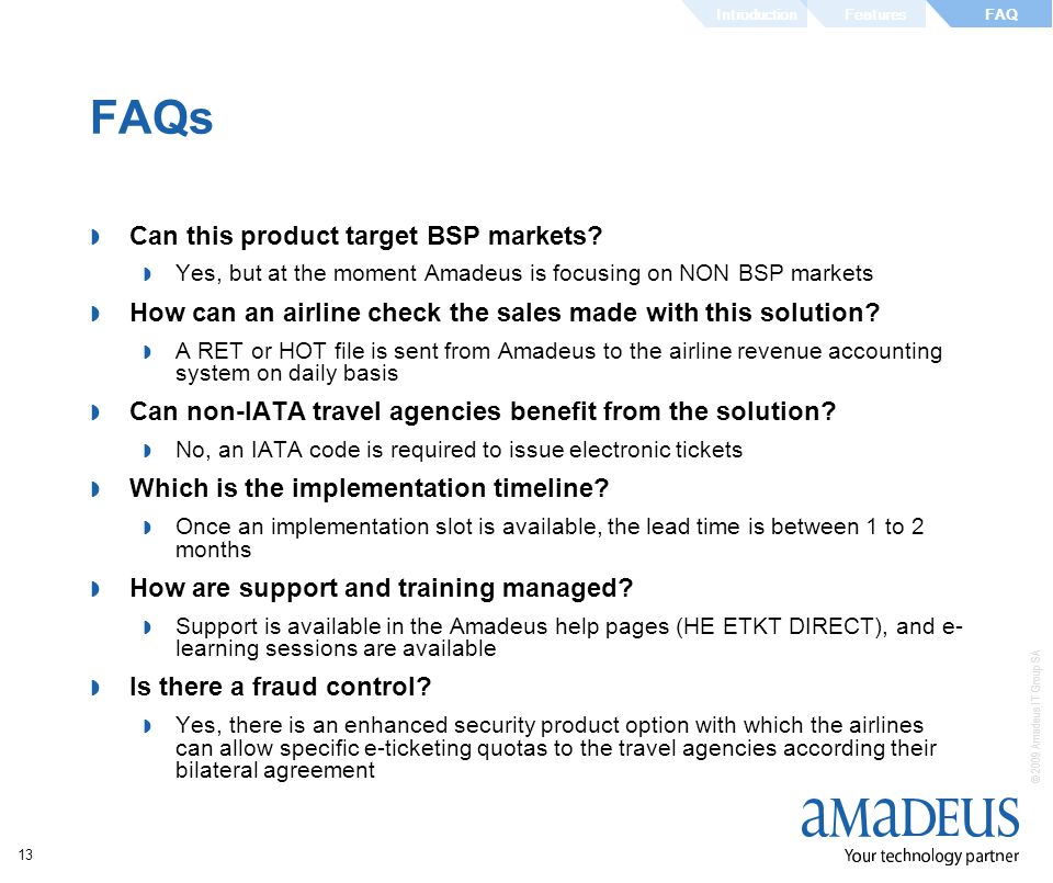 FAQs Can this product target BSP markets