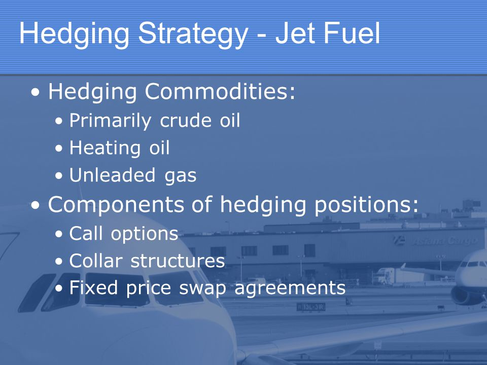 Hedging Strategy - Jet Fuel
