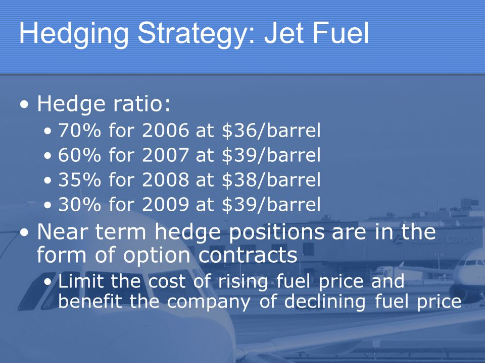 Hedging Strategy: Jet Fuel