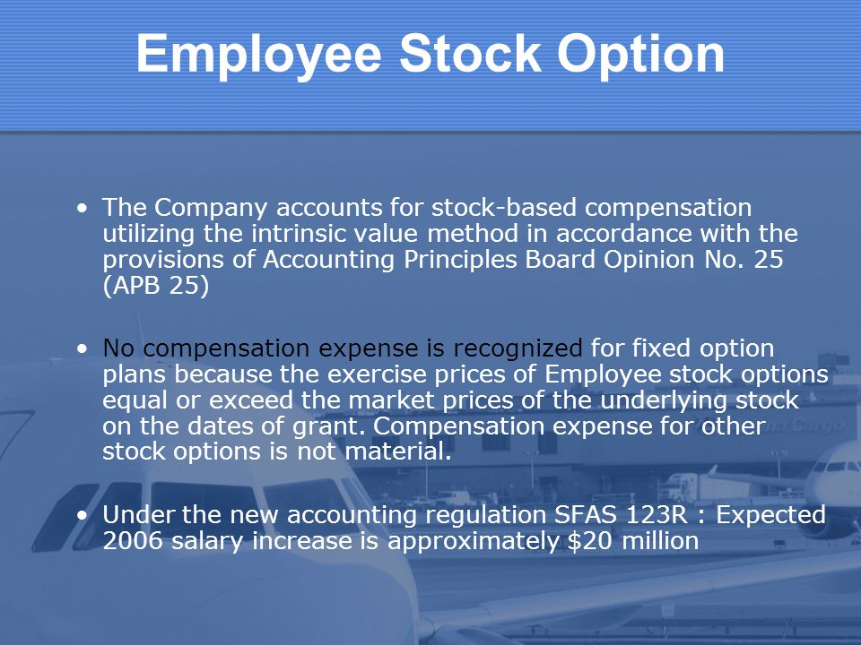 Employee Stock Option