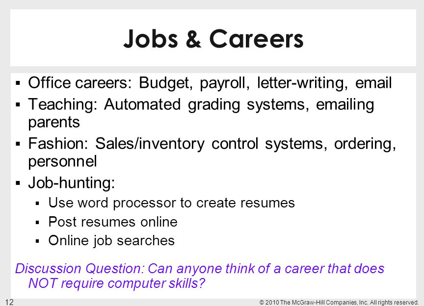 Jobs & Careers Office careers: Budget, payroll, letter-writing,