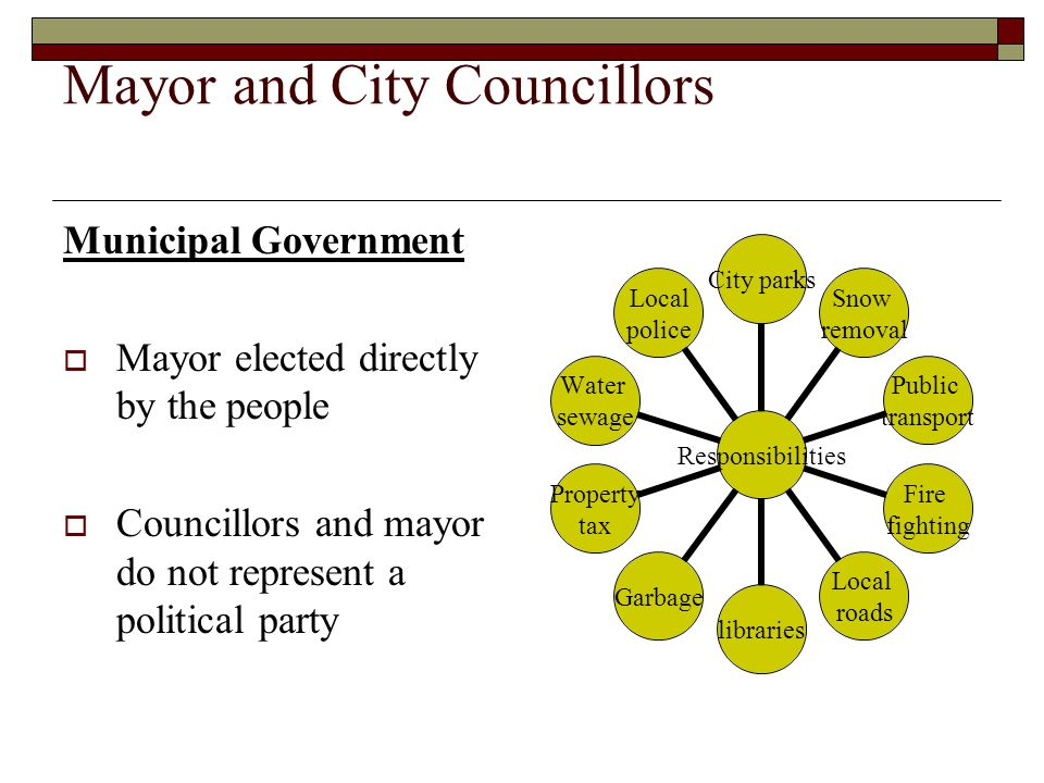 Mayor and City Councillors