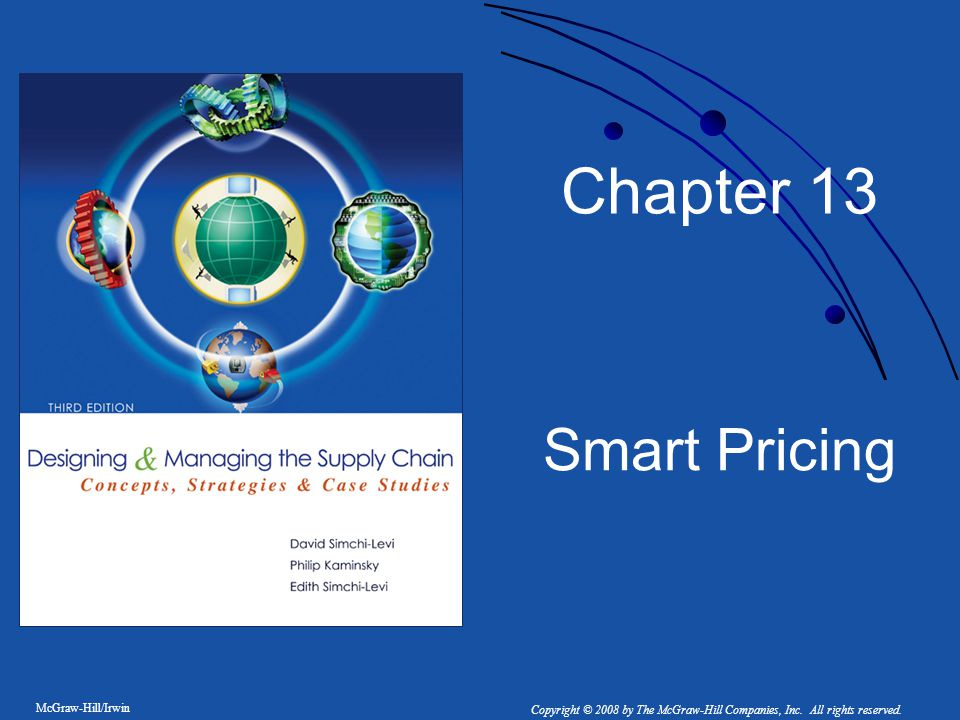 Chapter 13 Smart Pricing