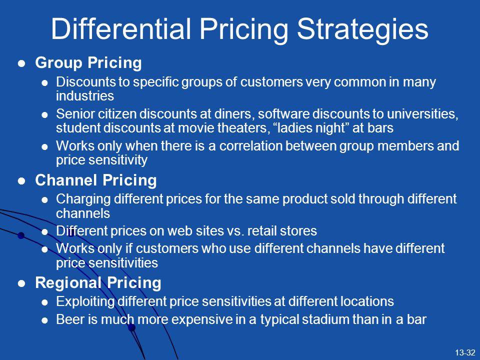 8 Types of Pricing Strategies Normally Adopted by Firms | Economics