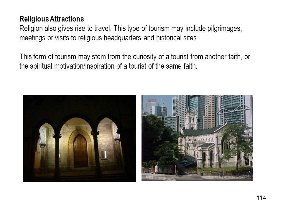 Religious Attractions