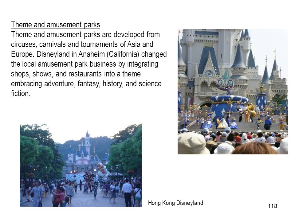 Theme and amusement parks
