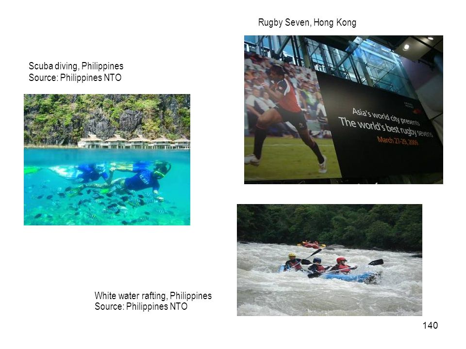Rugby Seven, Hong Kong Scuba diving, Philippines. Source: Philippines NTO.