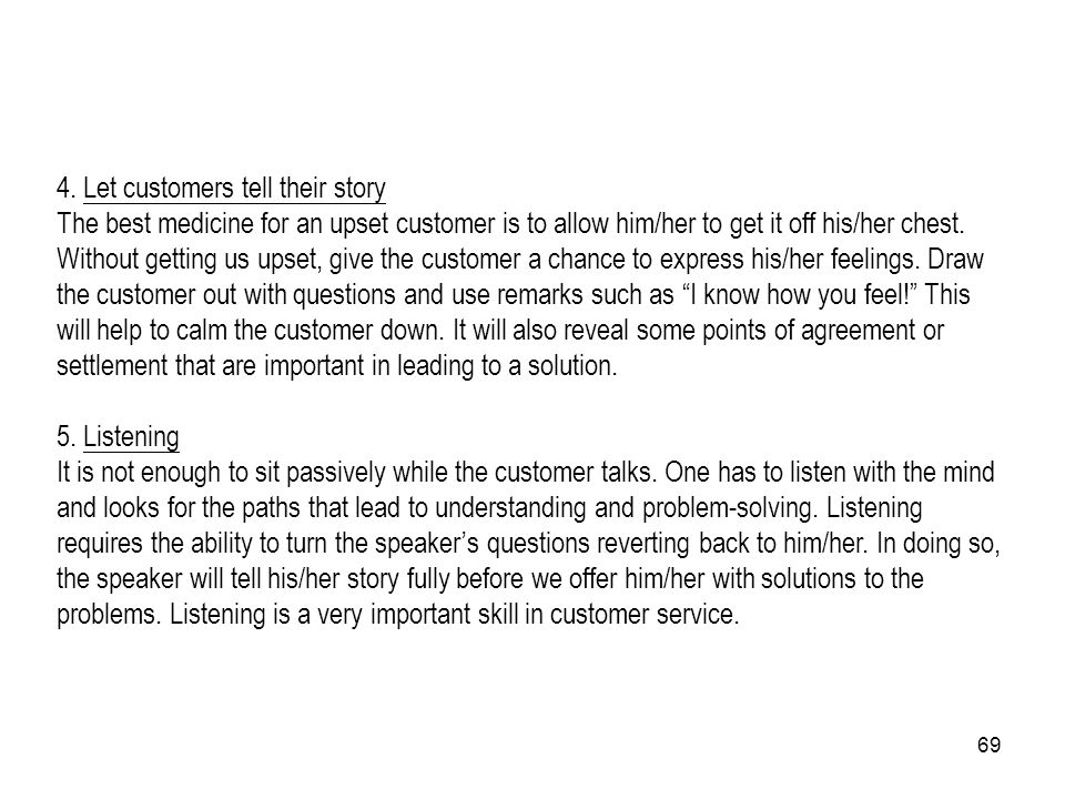 4. Let customers tell their story