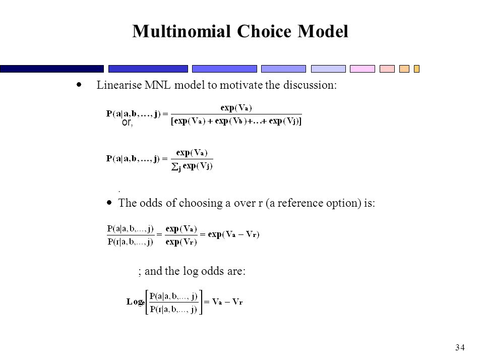 Multinomial Choice Model
