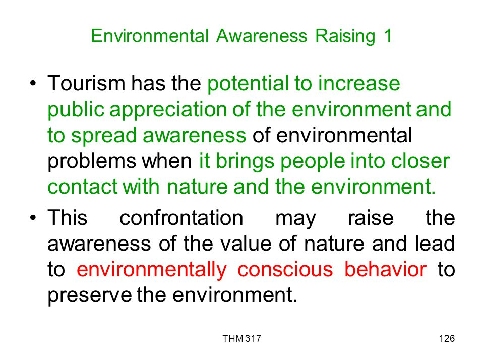 Environmental Awareness Raising 1