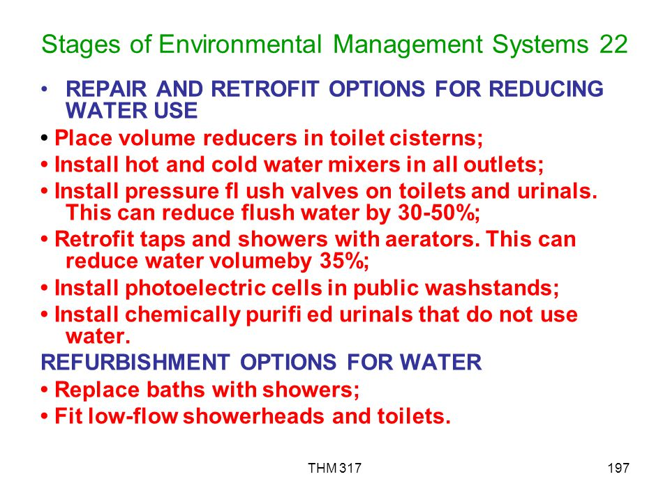Stages of Environmental Management Systems 22