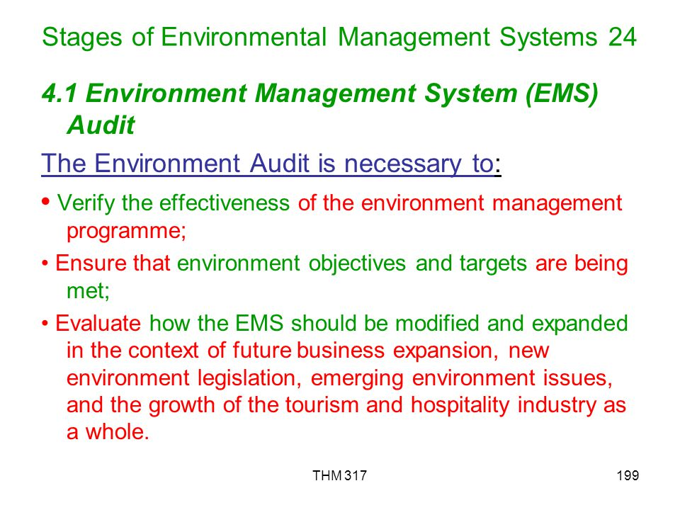 Stages of Environmental Management Systems 24