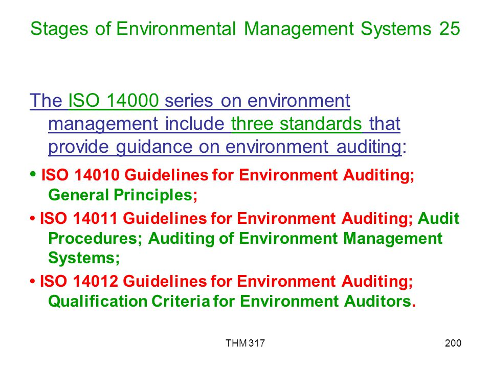 Stages of Environmental Management Systems 25