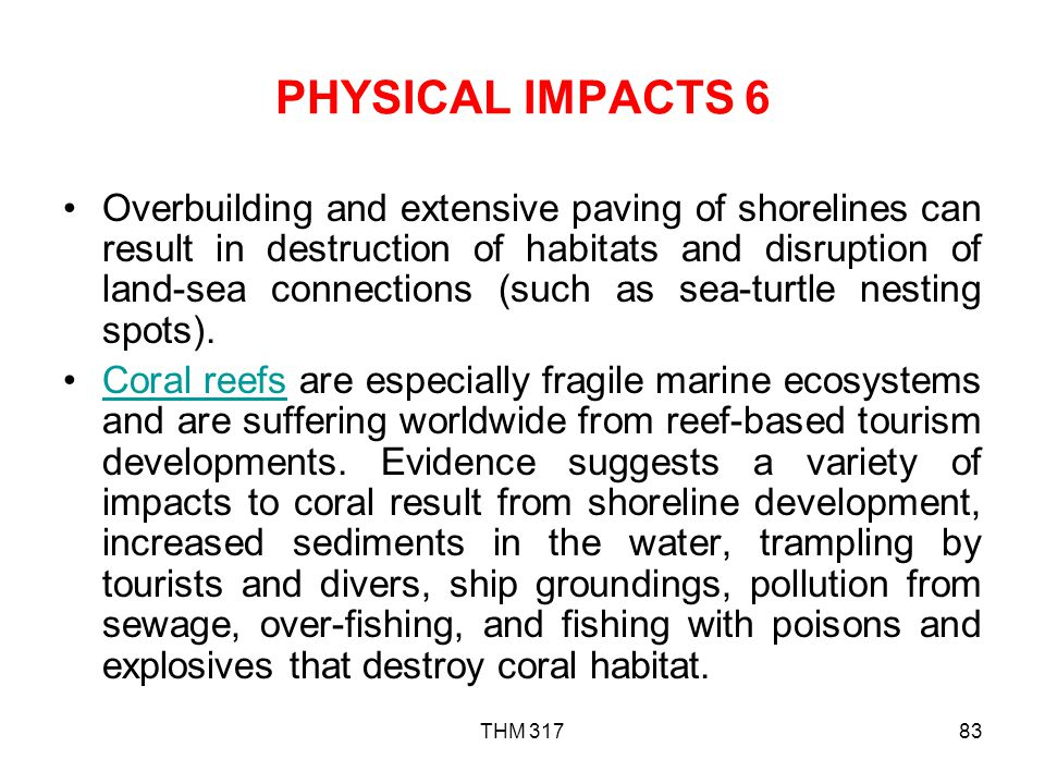 PHYSICAL IMPACTS 6