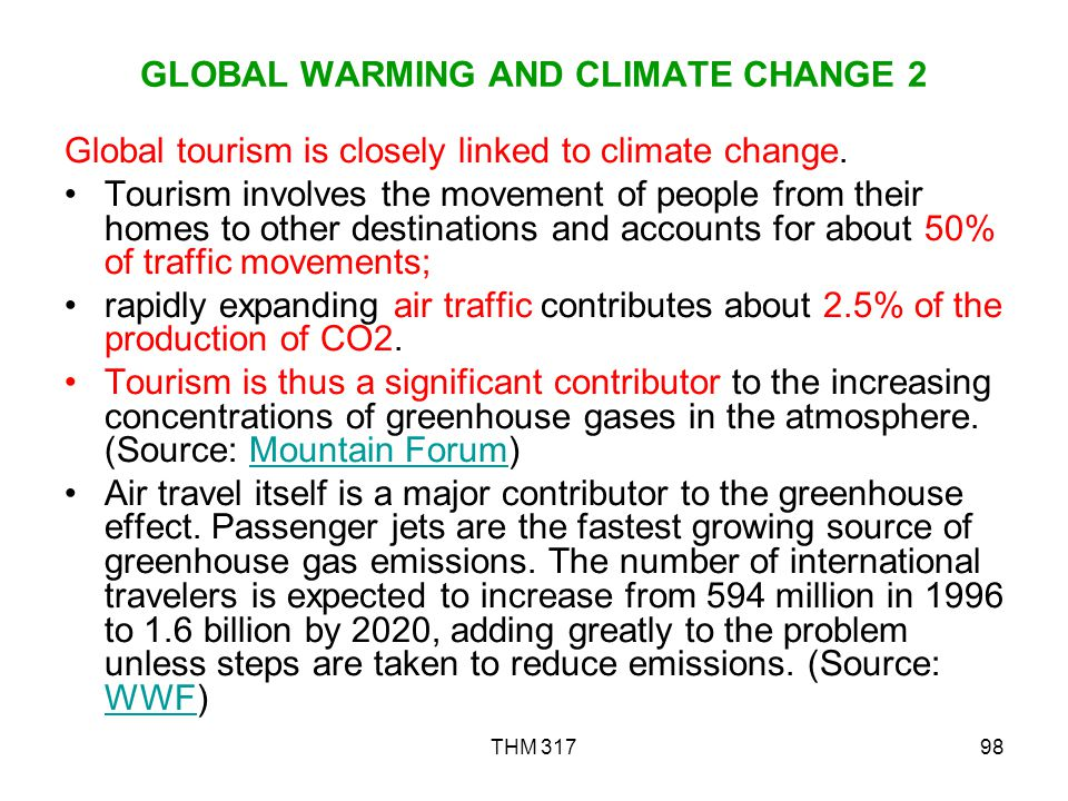 GLOBAL WARMING AND CLIMATE CHANGE 2