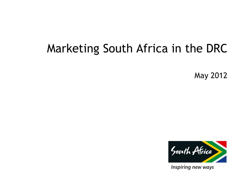 Marketing South Africa in the DRC