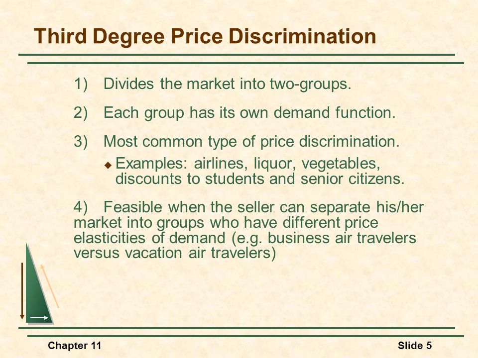 Price Discrimination Law and Legal Definition